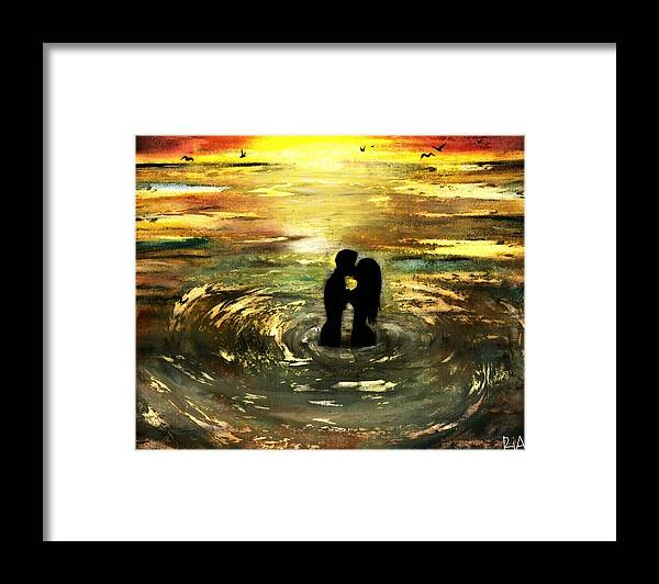 Beautiful Framed Print featuring the photograph The Vow by Artist RiA