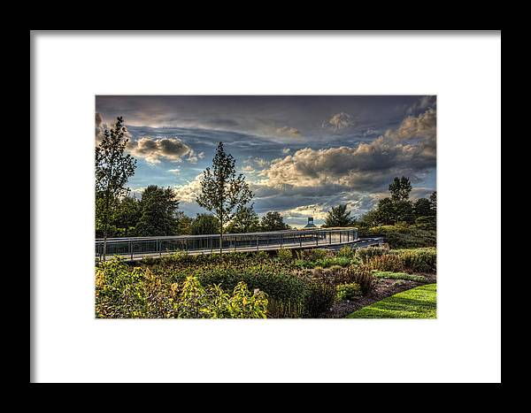 Landscape Framed Print featuring the photograph The Walking Path by Scott Wood