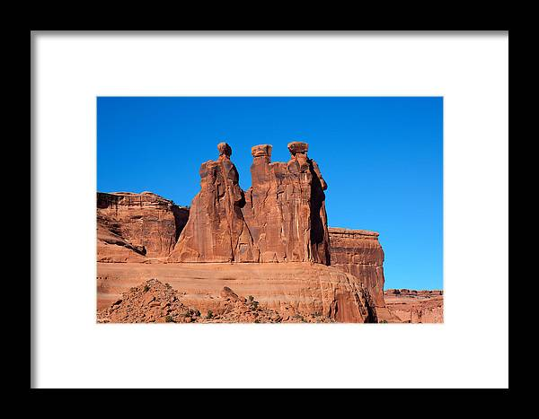 National Framed Print featuring the photograph The Watchers by John M Bailey