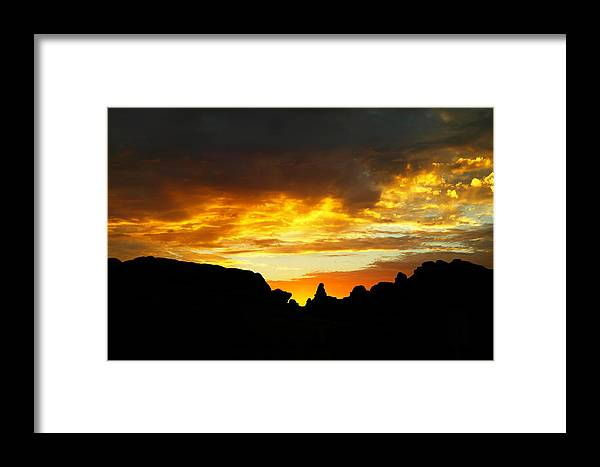 .sun Rise Framed Print featuring the photograph The Way A New Day Shines by Jeff Swan