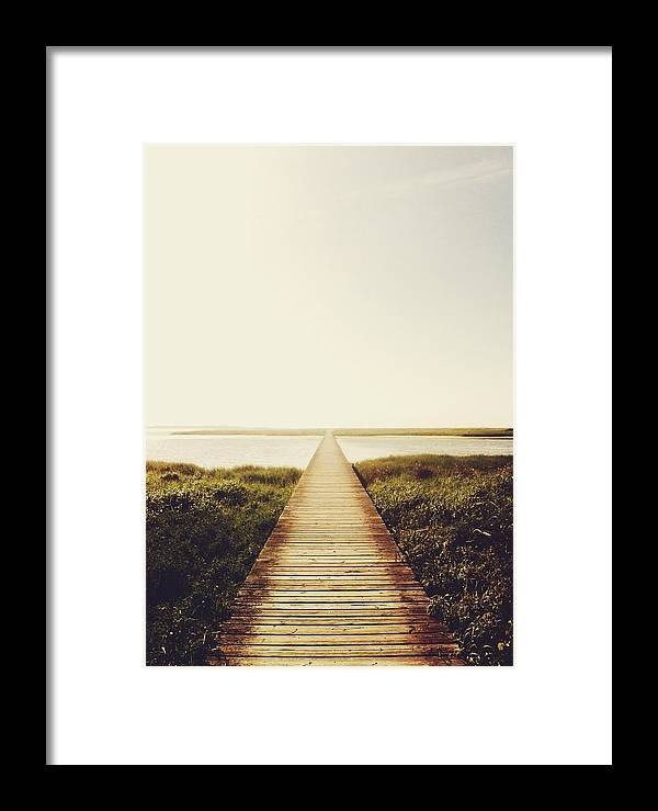 Beach Framed Print featuring the photograph The Way by Valentina Olsen