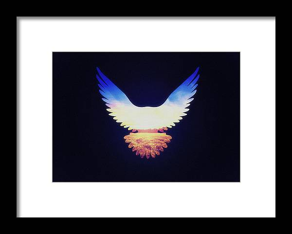 Eagle Framed Print featuring the photograph The Wild Wings by Philipp Rietz