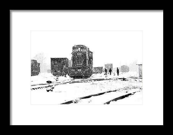 Hopewell Framed Print featuring the photograph The Work Goes On by Mike Flynn