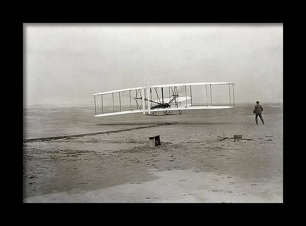 The Wright brothers' first powered by Science Photo Library