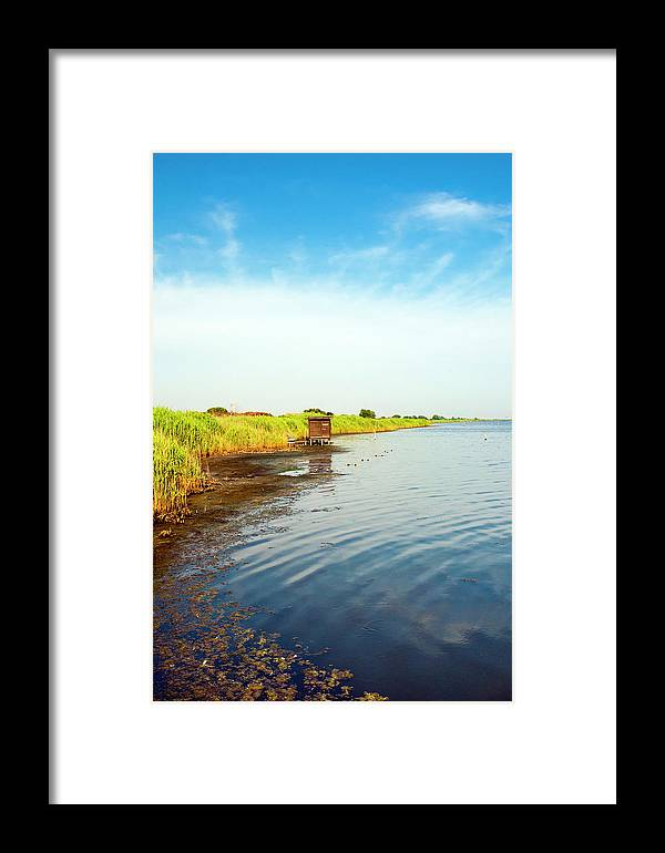 Burano Framed Print featuring the photograph The Wwf Oasis Of Lake Burano, Capalbio by Nico Tondini