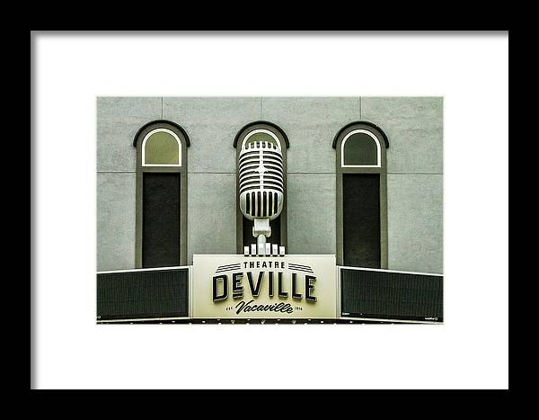 Deville Framed Print featuring the photograph Theatre Deville by Bill Gallagher