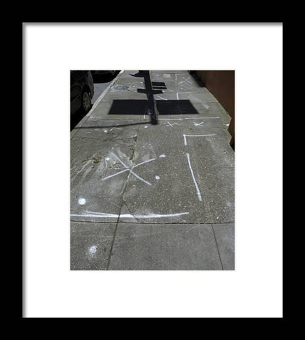 Lauren Framed Print featuring the photograph This Is Not Graffiti by Lauren Steinhauer
