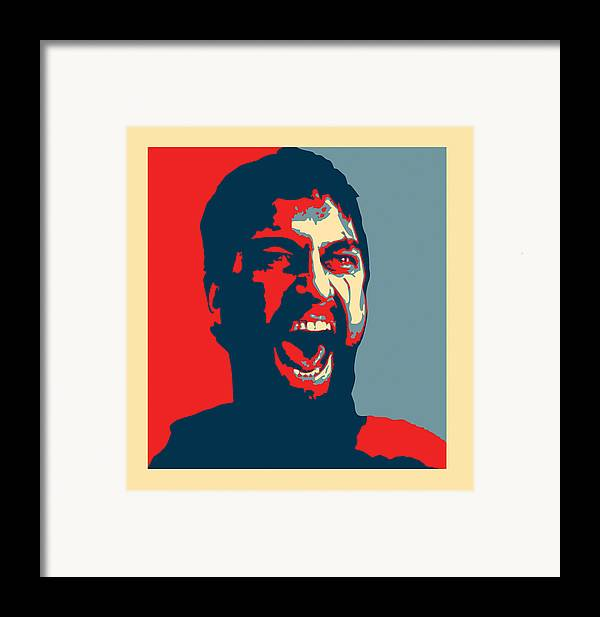 Sparta Framed Print featuring the digital art This Is Sparta by Allan Swart