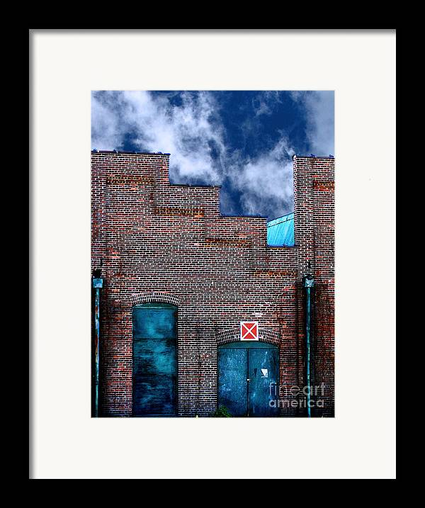 Condemned Framed Print featuring the photograph This Property Is Condemned by Colleen Kammerer
