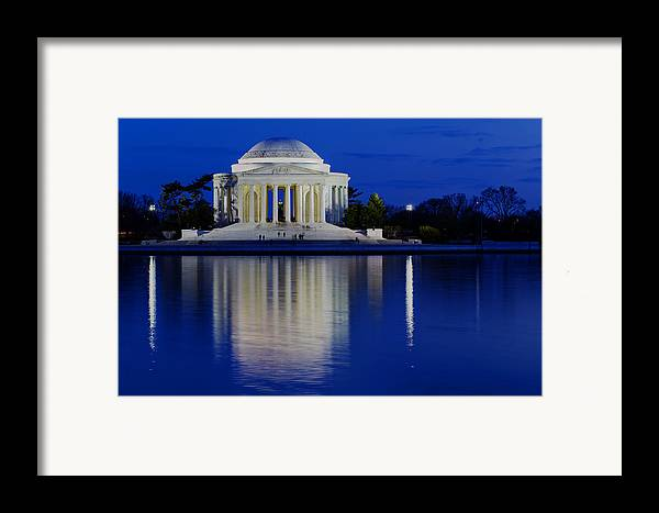 Andrew Pacheco Framed Print featuring the photograph Thomas Jefferson Memorial by Andrew Pacheco