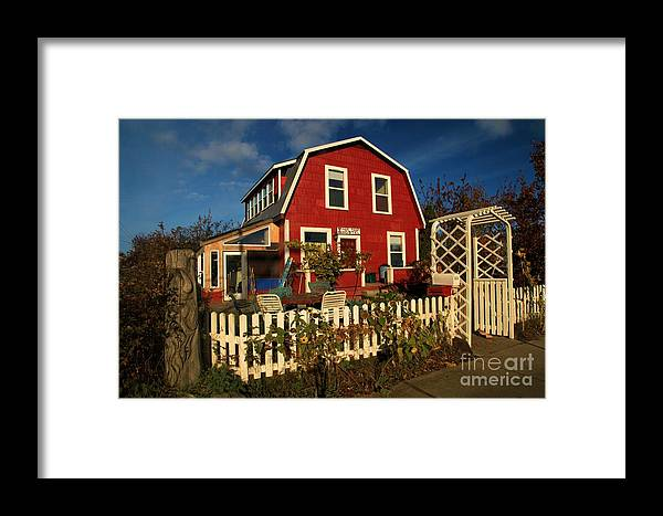 Thor Town Framed Print featuring the photograph Thor Town Hostel by Adam Jewell