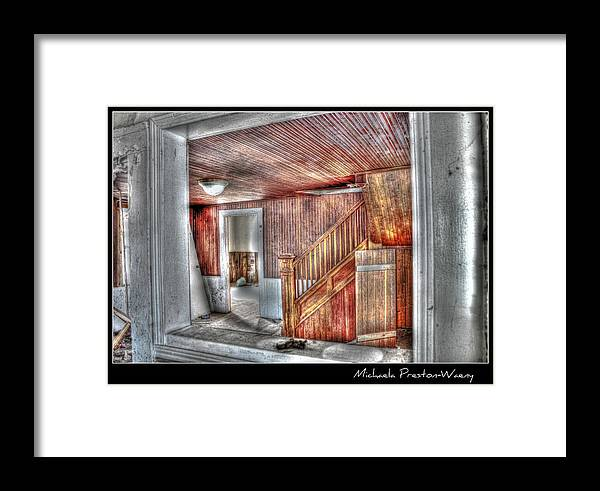 Buildings Framed Print featuring the photograph Thornton House 3 by Michaela Preston
