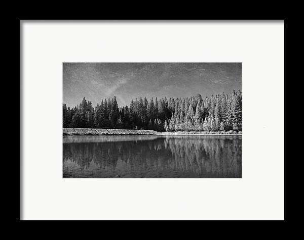 White Pines Lake Community Park Framed Print featuring the photograph Those Days Are Gone by Laurie Search