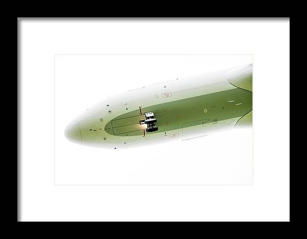 Aircraft Framed Print featuring the photograph Three Green by Mad Eejit Photo