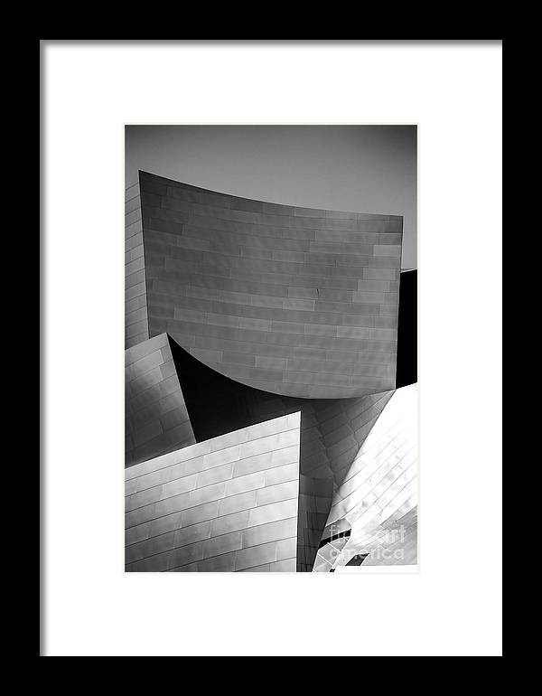 Los Angeles Framed Print featuring the photograph Three Points by Az Jackson