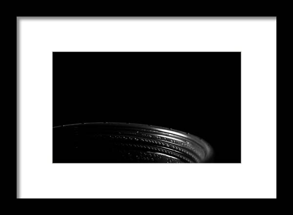 Minimalism Framed Print featuring the photograph Through Deepness To Rise by Rebecca Sherman