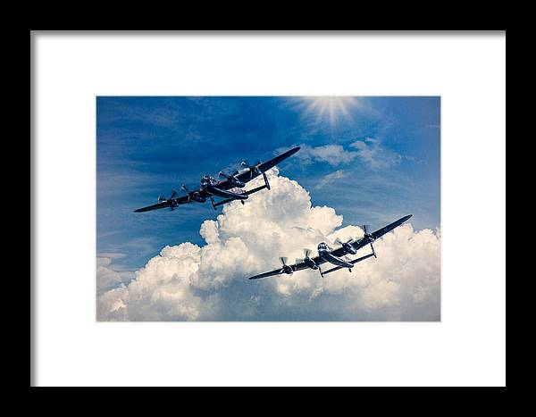 Thumper Framed Print featuring the photograph Thumper And Vera by Chris Lord