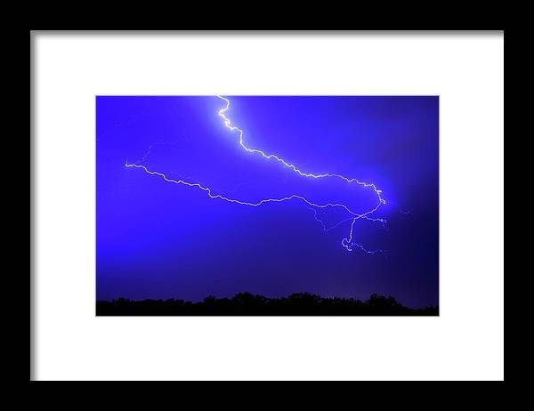 Thunderstorm Framed Print featuring the photograph Thunderstorm In The Rain by Republica