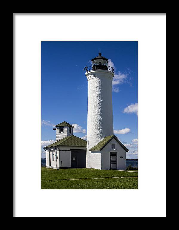 Historic Framed Print featuring the photograph Tibbetts Point Lighthouse by Ben and Raisa Gertsberg