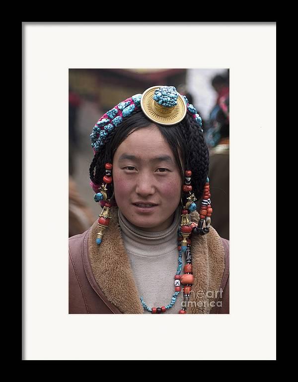 To Travel Framed Print featuring the photograph Tibetan Beauty - Kham by Craig Lovell
