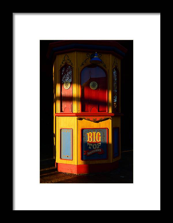 Circus Ticket Both Framed Print featuring the photograph Ticket To The Big Top by David Lee Thompson