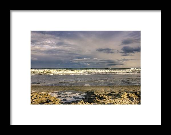 America Framed Print featuring the photograph Tidal Pool by Rob Sellers