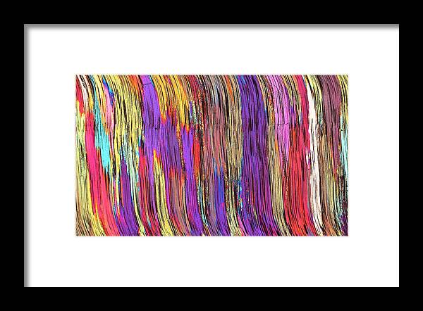 Abstract Framed Print featuring the photograph Tiger's Eye 13 by Bernardo Cesare