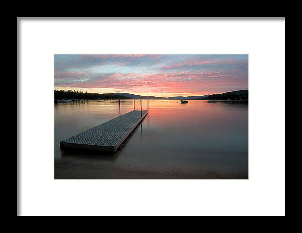 Timberloch Framed Print featuring the photograph Timberloch Sunset by Rodeonexis Photography