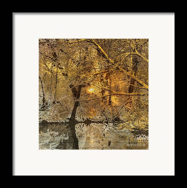 Framed Print featuring the mixed media Time II by Yanni Theodorou