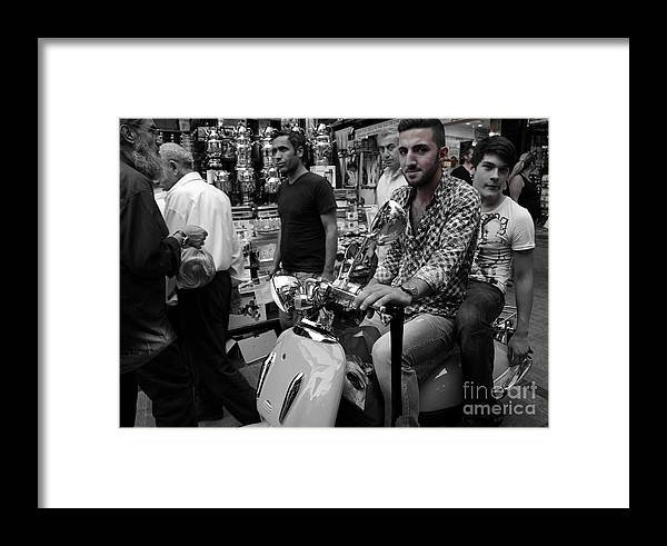 Framed Print featuring the photograph Time Stood Still by Sulzhan Bali