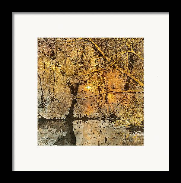 Framed Print featuring the mixed media Time by Yanni Theodorou