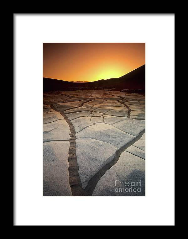 Sunrise Framed Print featuring the photograph Timeless Death Valley by Bob Christopher