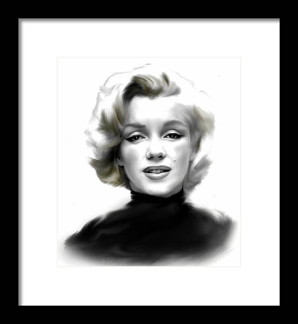 Timeless Marilyn Monroe Framed Print by Iconic Images Art Gallery ...