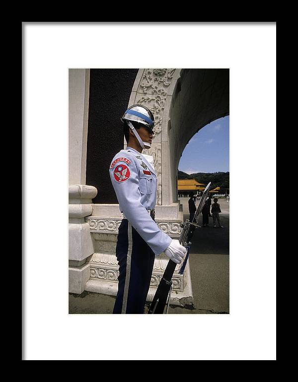 Man Framed Print featuring the photograph Tin Soldier by Carl Purcell