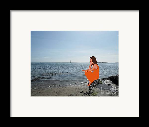 Shore Framed Print featuring the photograph Tin Whistle 3 by Patrick J Murphy