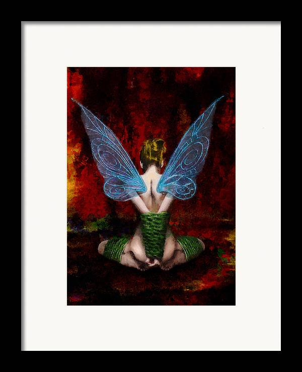 Tink Framed Print featuring the painting Tink's Fetish by Christopher Lane