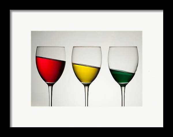 Colour Framed Print featuring the photograph Tipple by AJM Photography