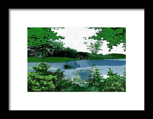 Asegia Framed Print featuring the digital art To Commune by Steven Murphy