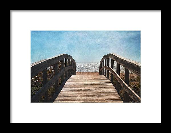 Gasparilla Island Framed Print featuring the photograph To The Sea by Kim Hojnacki