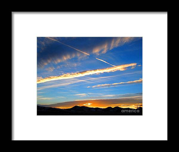 Tobacco Root Mountains Framed Print featuring the photograph Tobacco Root Mountains At Sunset 2 by Matthew Peek