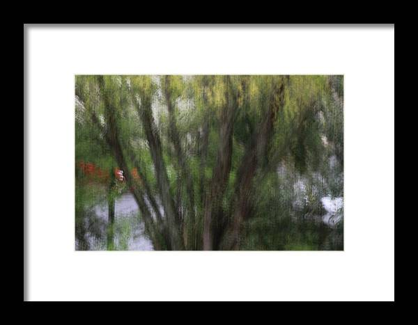 Framed Print featuring the painting Together... by Nuwanda Jonn