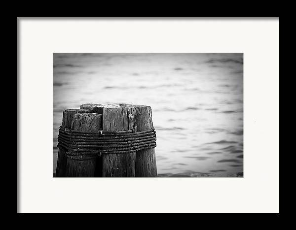 Ocean Framed Print featuring the photograph Together by Toni Hopper