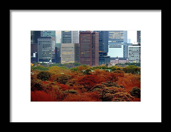Financial District Framed Print featuring the photograph Tokyo Marunouchi by Vladimir Zakharov