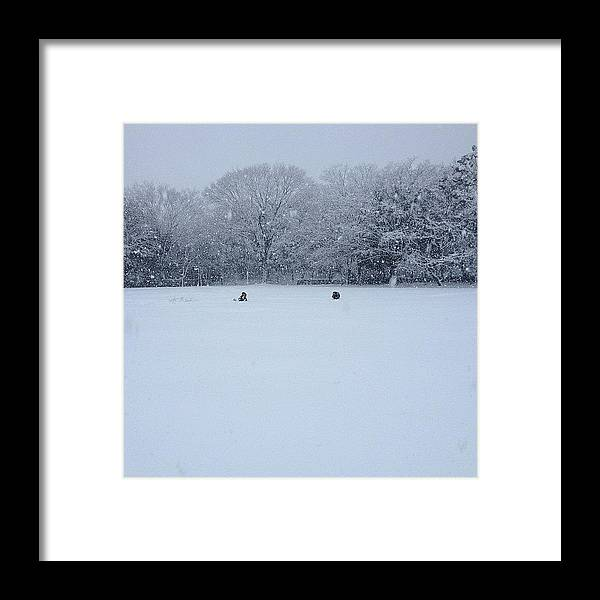 Tama Framed Print featuring the photograph #tokyo #tama #landscape by Tokyo Sanpopo