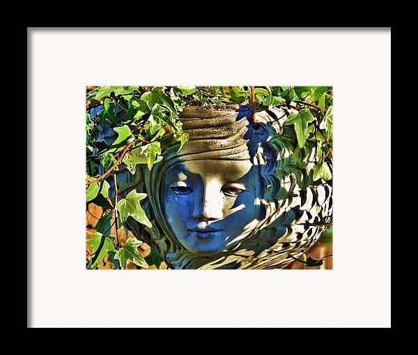Garden Framed Print featuring the photograph Told In A Garden by Helen Carson