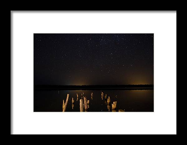 Scenery Framed Print featuring the photograph Too Many Stars by Joep K