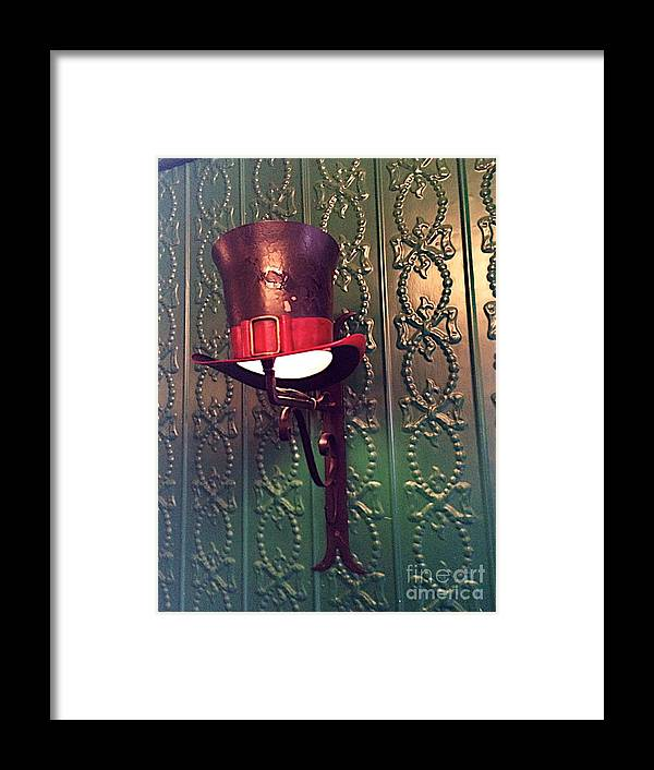 Light Framed Print featuring the photograph Top Hat by Joseph Yarbrough