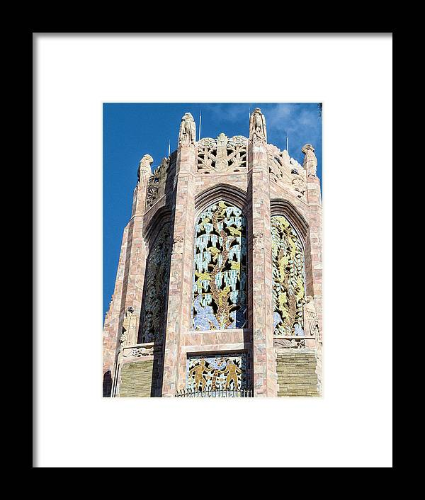 Singing Tower House Framed Print featuring the photograph Top Of The Singing Tower House					 by Zina Stromberg