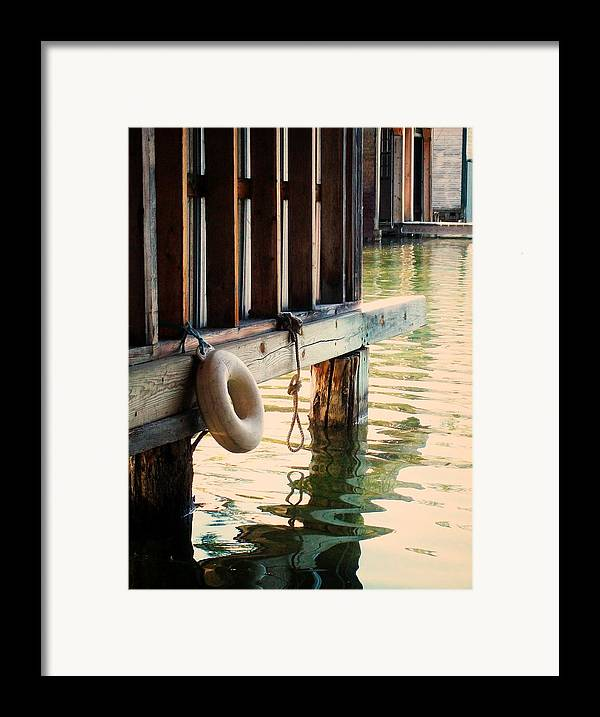 Boat Houses Framed Print featuring the photograph Torch River Bayou by Michelle Calkins