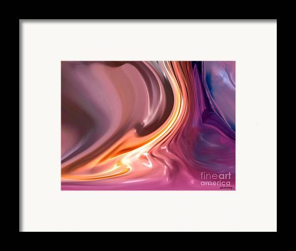 Tornado Framed Print featuring the painting Tornado by Christian Simonian